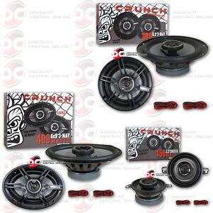 Crunch CS693 Full Range 3-Way Car Speaker 6 x 9-Inch