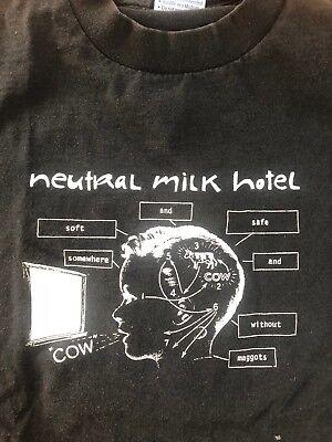New NEUTRAL MILK HOTEL Indie Rock Band Men/'s Black T-Shirt Size S M L XL 2XL 3XL