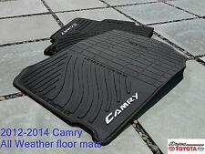 OEM 2012 - 2013 OEM TOYOTA CAMRY ALL WEATHER FLOOR MAT SET OF 4 PT908-03120-20