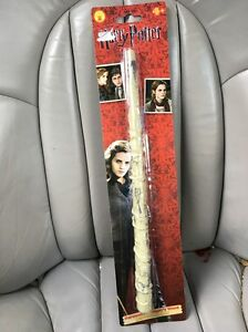Image is loading Rubies-Harry-Potter-Hermione-Granger-Magic-Wand-movie-  sc 1 st  eBay & Rubies Harry Potter Hermione Granger Magic Wand movie dvd halloween ...