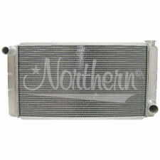 "Universal 2-Row Aluminum Radiator GM Chevy 16"" x 31"" Low Profile Northern 209628"