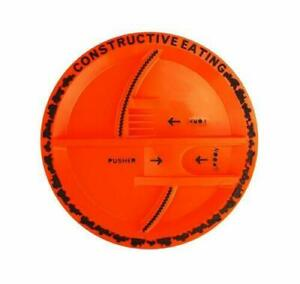 Constructive-Eating-Construction-Plate-Kids-Toddler-Novelty-Plate-Free-Post