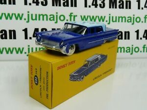 voiture-1-43-reedition-DINKY-TOYS-DeAgostini-LINCOLN-premiere