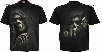 SPIRAL DIRECT REAPER BLUES T-Shirt Reaper//Biker//Skull//Goth//Gothic//Dark//Top//Tee