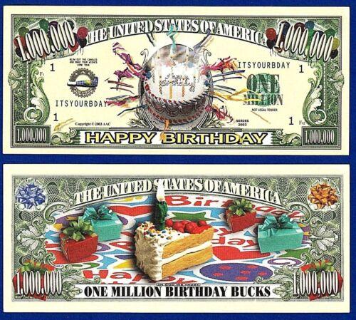 Z3 W// clear protector sleeve 1-Happy Birthday Wishes Dollar Bill Gift Card-