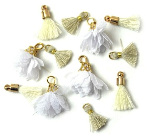 MILK /& HONEY Tassels  Shelly/'s Buttons Jesse James Beads White Label Exclusives