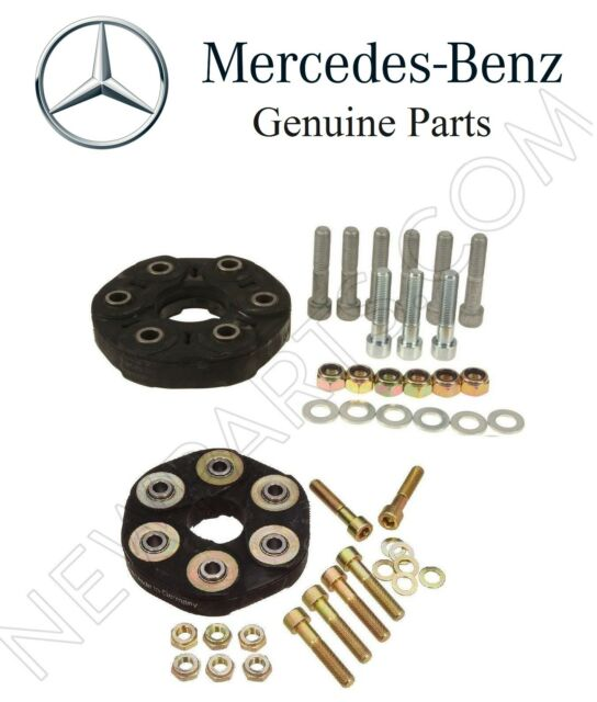 For Mercedes W124 190D W201 W211 Set of Two Drive Shaft Flex Joints Kit Genuine