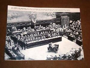 Discorso Camera Mussolini : Fascismo benito mussolini discorso camera manifesto