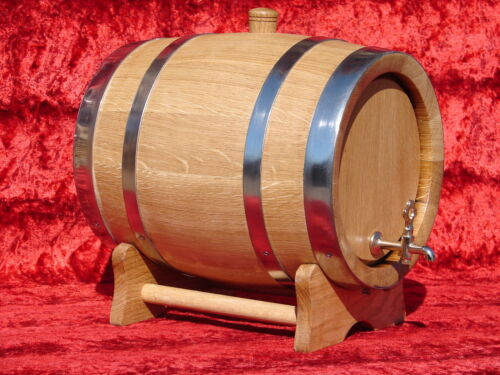 11 L OAK BARRELS WOODEN BARRELSSTAINLESS STEELWHISKYWINE