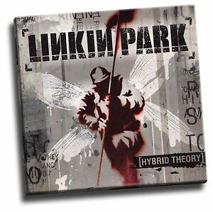 Details About Linkin Park Hybrid Theory Giclee Canvas Album Cover Picture Art