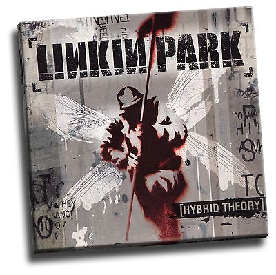 Linkin Park Hybrid Theory Giclee Canvas Album Cover Picture Art Ebay