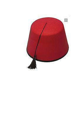 6//12//18//24 Fancy Dress Fez  Hat Morocco Moroccan Tommy Cooper Turkish