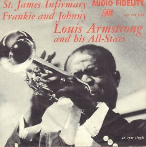 LOUIS-ARMSTRONG-St-James-Infirmary-1965-VINYL-SINGLE-7-034-HOLLAND