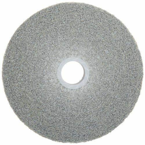 """3M 8/"""" Diam 5//8/"""" Center Hole Medium Grade Aluminum Oxide Deburring Wheel Un..."""