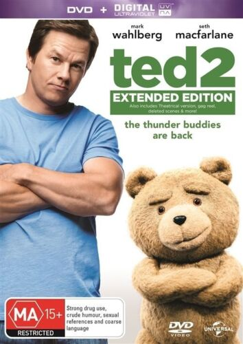 1 of 1 - Ted 2 (DVD, 2015) NEW R4