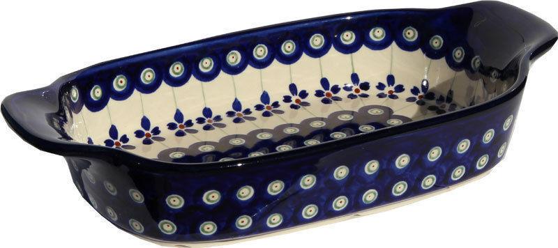 Polish Pottery Rectangular Serving Dish  from Zaklady Boleslawiec 1281 166a