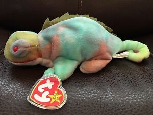 c77fedf5f77 Image is loading COLLECTORS-1997-NEW-Beanie-Baby-ty-IGGY-Rare