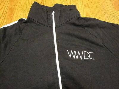 APPLE WWDC 2012 TRACK JACKET XL Extra Large Black XCode Swift Cocoa CloudKit App
