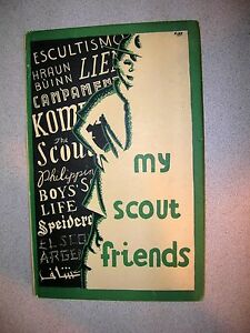 My-Scout-Friends-An-Autograph-Book-For-Scouts-1957-British-Ed-1957-3rd-Ed