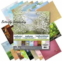 Outdoors Nature 12x12 Scrapbooking Paper Pad 24 Sheet Paper House Pp-0036