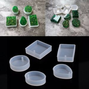 5pcs-Silicone-Mould-Resin-Decorative-Craft-Jewelry-Making-Mold-Epoxy-Resin-Molds