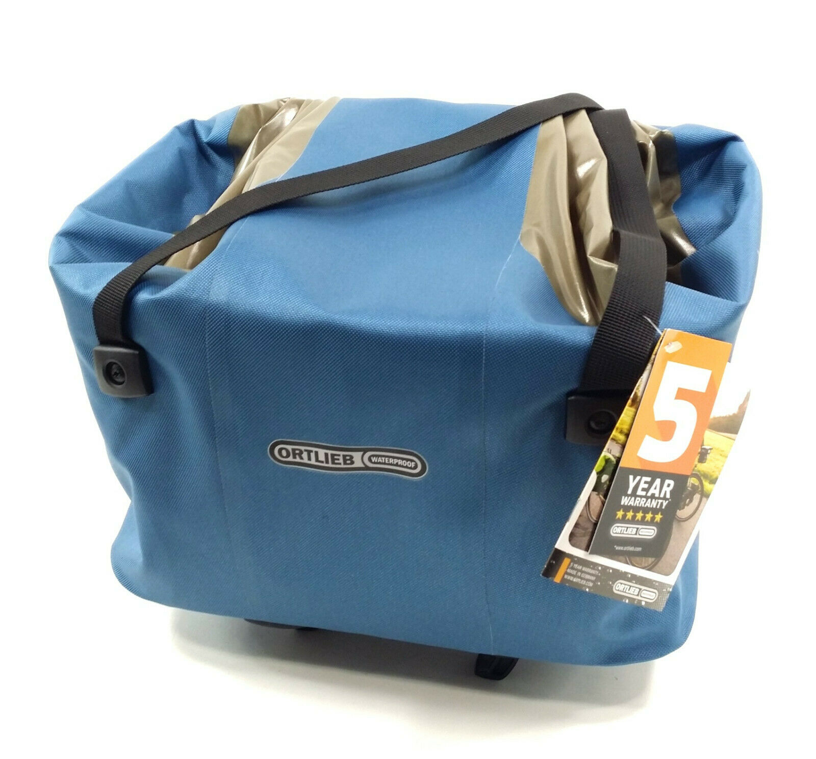 Ortlieb Hinterradkorb Waterproof Bicycle Trunk Bag 22L bluee F79105