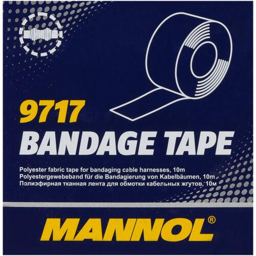 6x MANNOL 9717 Bandage Tape GUARNIZIONE NASTRO ADESIVO NASTRO ISOLANTE NASTRO TESSUTO