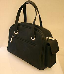 1c4b6dadee2fb4 Das Bild wird geladen Otto-Kern-Tasche-grosse-Handtasche-Shopper-Nylon- schwarz-