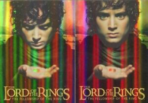 Lord-of-the-Rings-Fellowship-Box-Topper-Bonus-Foil-Chase-Card-Set-2-Cards