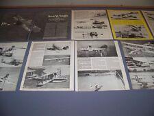 VINTAGE..CURTISS FLYING BOATS.. AMERICA - PH-3..HISTORY/PHOTOS...RARE! (873)
