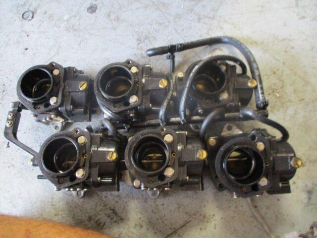 Johnson 200hp Oceanrunner Outboard Carburetor Set 0437321