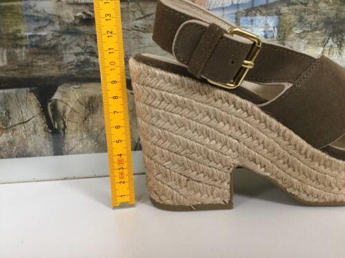 BIMBA Y LOLA Damen Schuhe Shoes Sandalen Plateausandale Schwarz Leder Black NEU