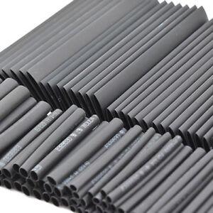 127Pcs-Black-Glue-Weatherproof-Heat-Shrink-Sleeving-Tubing-Tube-Assortment-Kit