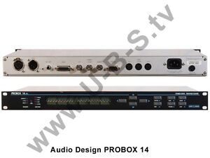 Conscientious Audio Design Probox 14 Other Consumer Electronics Timecode Transcoder And Digestion Helping