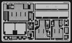 EDUARD-1-35-CHEVROLET-PISTOLA-Trattore-Progettato-TO-BE-USATO-CON-Italieri-KIT