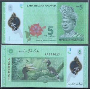 Malaysia-RM5-12th-Series-Zeti-Polymer-1st-Prefix-AA-UNC-AA-8896221
