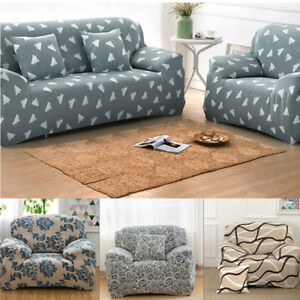 Astounding Details About 1 2 3 4 Seater Loveseat Cover Sofa Stretch Protector Couch Elastic Slipcover Us Andrewgaddart Wooden Chair Designs For Living Room Andrewgaddartcom
