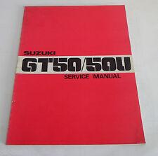 Workshop Manual / Werkstatthandbuch Motorrad Mokick Suzuki GT 50 / U / GT50/U