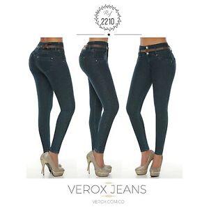 Shapewear Jeans Verox Colombian 2210 Lifter Tail Lift Butt Colombian wRTgxTX