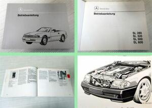 Betriebsanleitung-Mercedes-Benz-R129-280-320-500-600-SL-Stand-1993