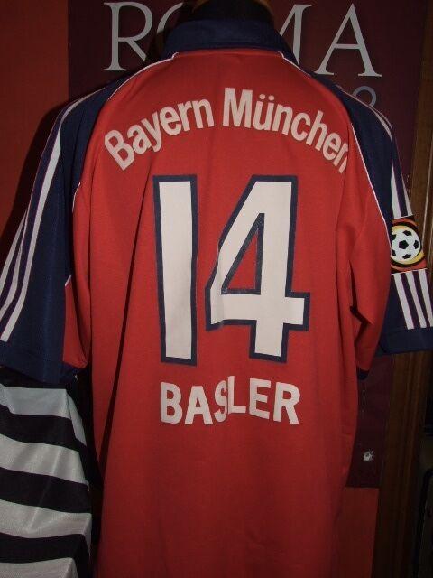 BASLER BAYERN MUNCHEN 1999 2000 MAGLIA SHIRT CALCIO FOOTBALL MAILLOT JERSEY