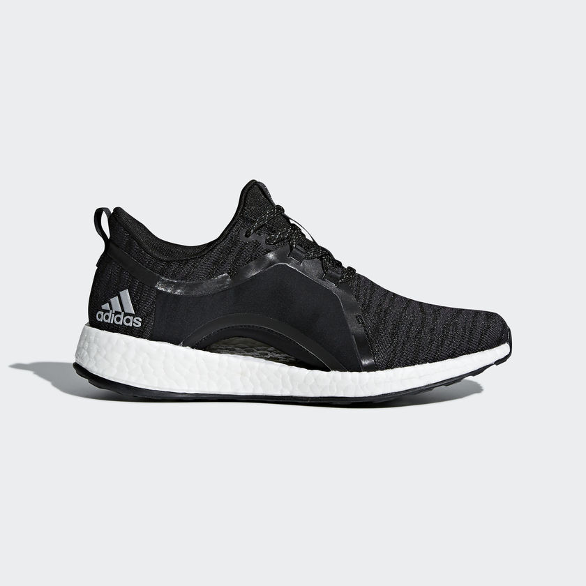 ADIDAS Donna PUREBOOST X SHOES BY8928 BLACK/WHITE