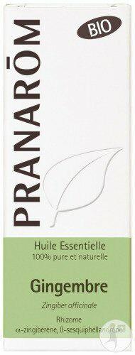 Essential Oil Ginger Organic Pranarom 5 ML
