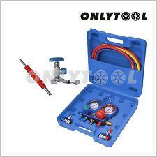 R134A Refrigeration Air Conditioning AC Diagnostic Manifold Gauge Tool