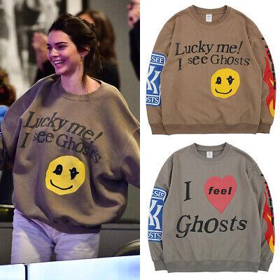 Men Fashion Smiling Face Fashion Print Hoodie Men Sweatshirt Jacket Pullover AU