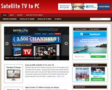 Satellite Tv Niche Turnkey Ready Made Affiliate Website Free Hosting Setup