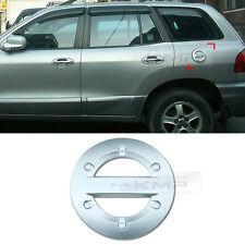 Chrome Fuel Cap Cover Molding Garnish Trim For HYUNDAI 2002 - 2005 Santa Fe
