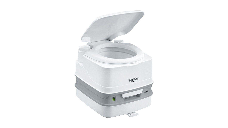 Porta potti 335 qube blancoooo inodoro WC camping baño química inodoro móvil