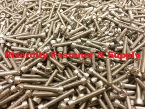 4-48x3//4 Socket Allen Head Cap Screw Stainless Steel Fine Thread #4 x 3//4 25