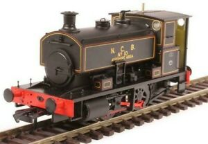 """H4-AB16-001, OO Gauge, Andrew Barclay 0-4-0ST 16"""" 2244 'No.10'  NCB black"""